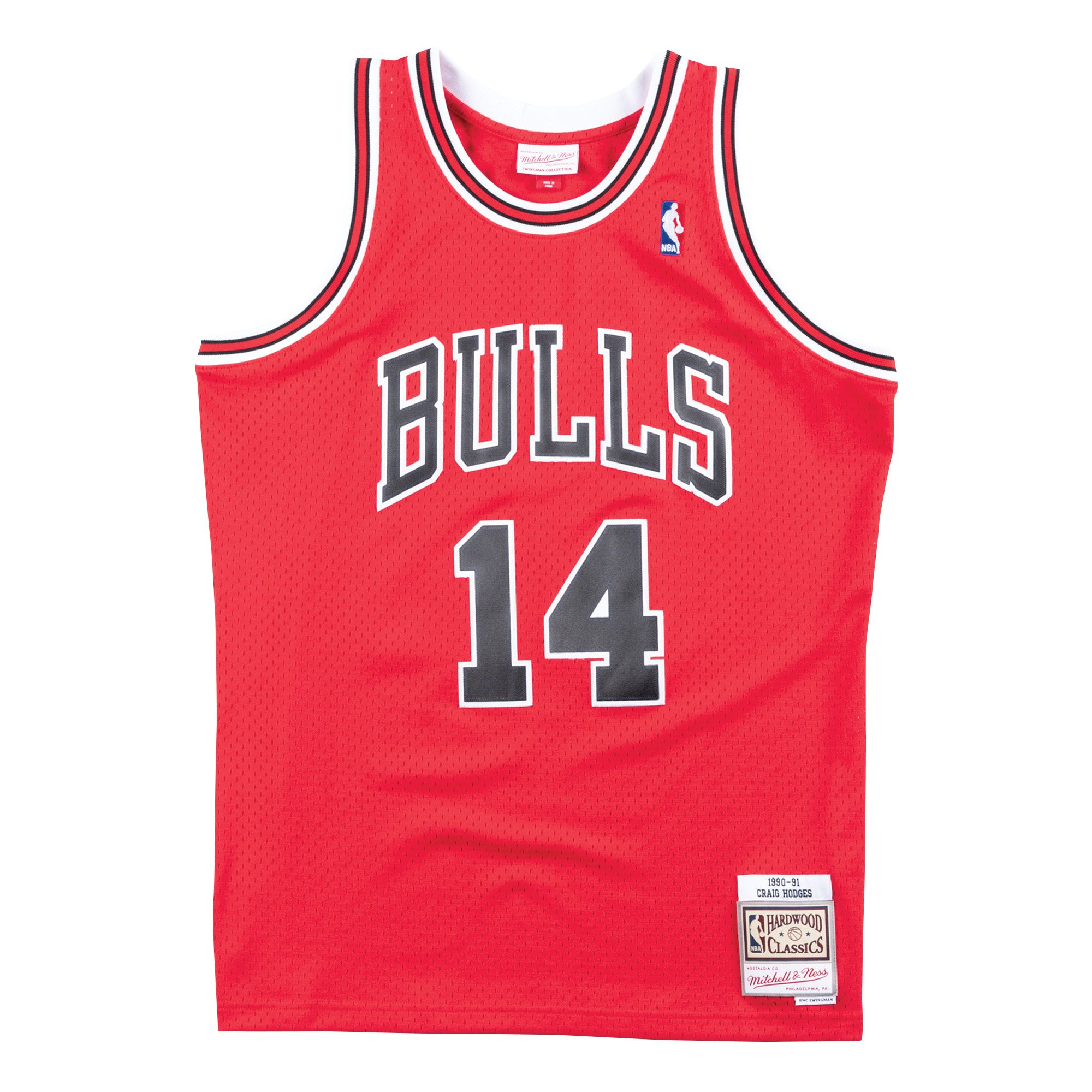 cheap hockey jerseys custom Mitchell & Ness Craig Hodges Chicago Bulls Hardwood Classic Throwback NBA Swingman Jersey where to purchase nba jerseys