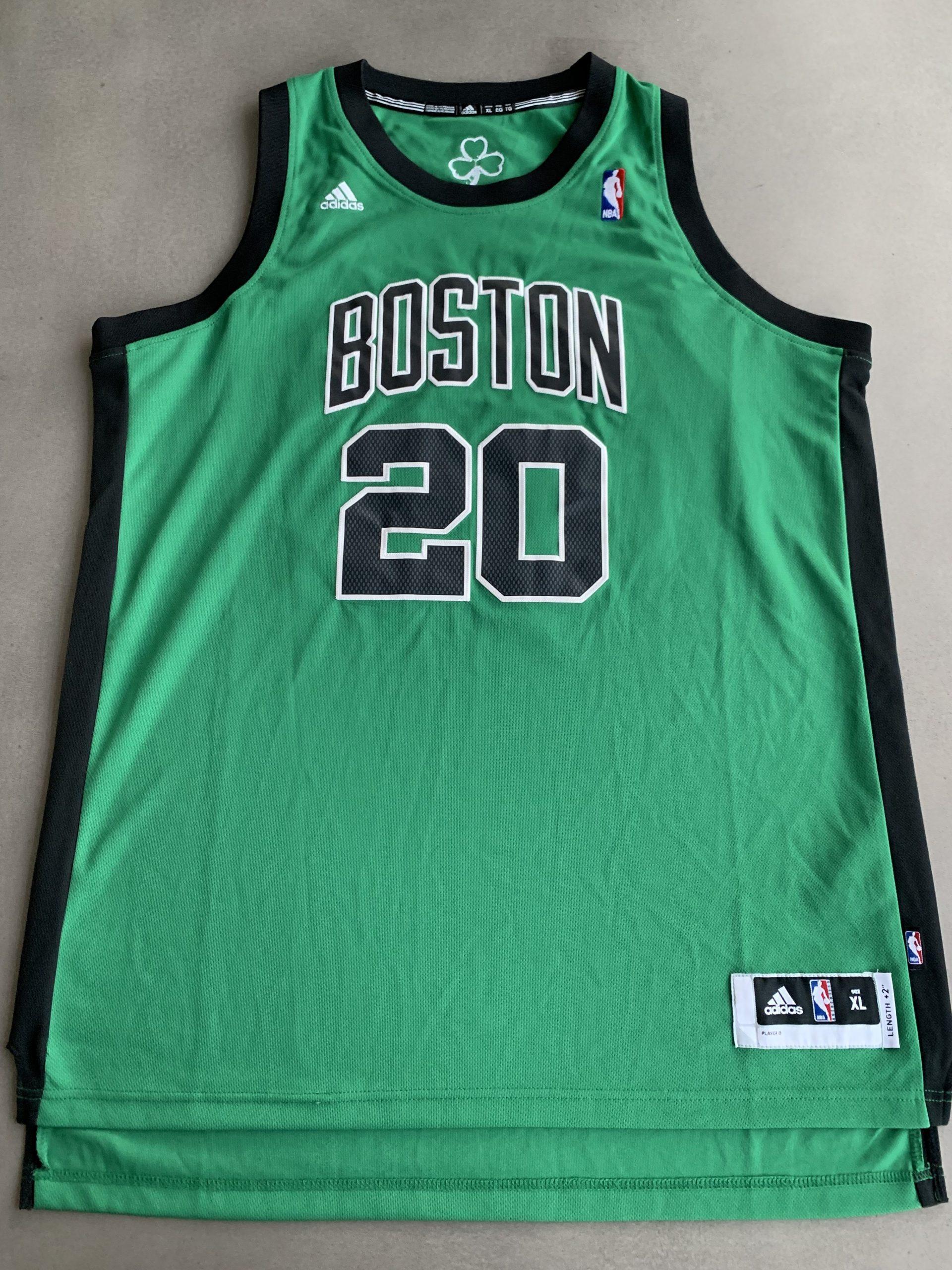 cheap nba jerseys legit adidas Ray Allen Boston Celtics Hardwood Classics Throwback Original Retro NBA Swingman Jersey With Free Shipping