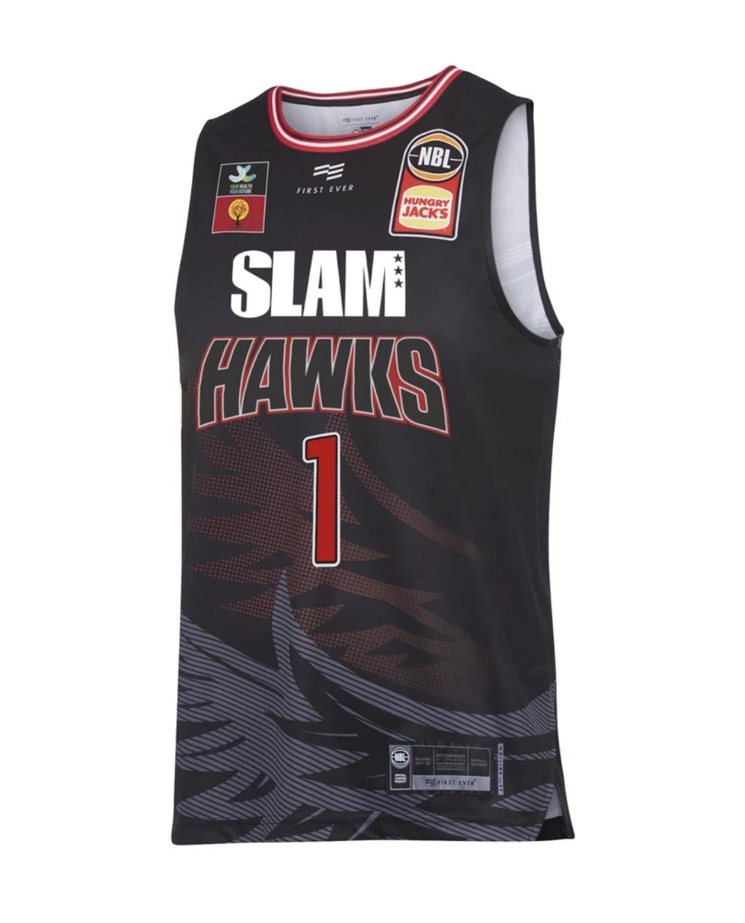 cheap nba jerseys los angeles First Ever LaMelo Ball Illawarra Hawks SLAM Home NBL Jersey Online Stores
