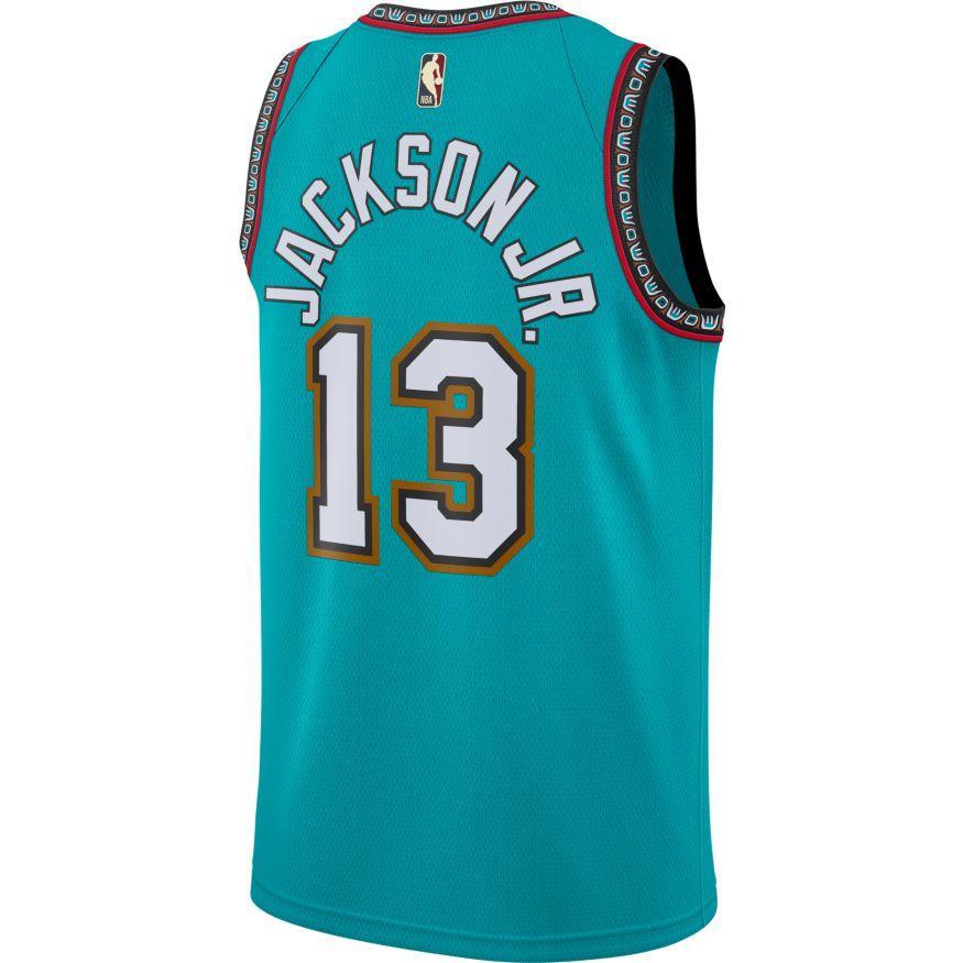 cheap philadelphia 76ers jerseys Nike Jaren Jackson Jr Memphis Grizzlies Classic Edition NBA Swingman Jersey buy jerseys online